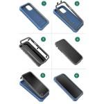 Google Pixel 5a 5G Rebel Shield Case With Belt Clip Holster