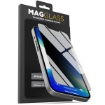 MagGlass iPhone 13 Privacy Shield Screen Protector